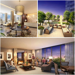 Amenities at The Florian Residences; 88 Davenport Rd